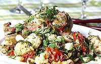 Різдвяне овочеве рагу з індичкою