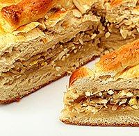 Великодні святкові страви: Пироги з капустою.