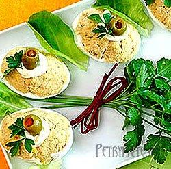 Страви з яйця. Смачні кулінарні рецепти