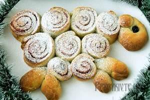 Святковий пиріг Новорічна овечка