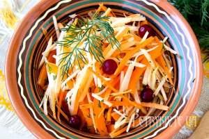Вітамінний салат з ріпи