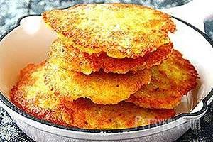 Картопляні деруни, тертюхи : поради і рецепти