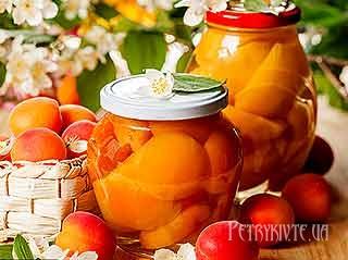 Медовий компот з абрикосів