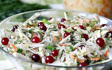 Салаты из капусты для праздничного стола с фото